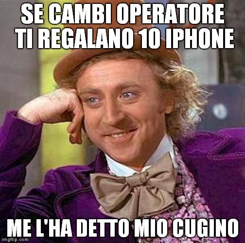 MEME IPHONE OMAGGIO