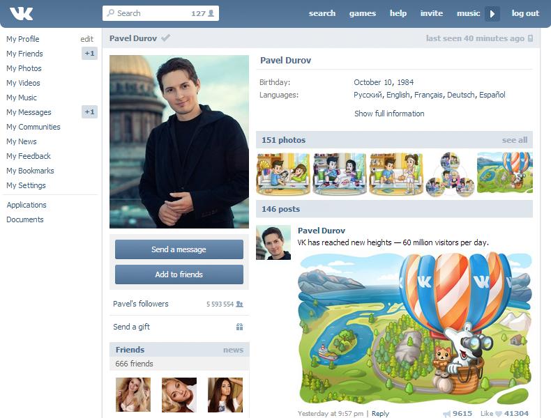 Social Media in Russia: VKontakte e Odnoklassniki - Social Factor