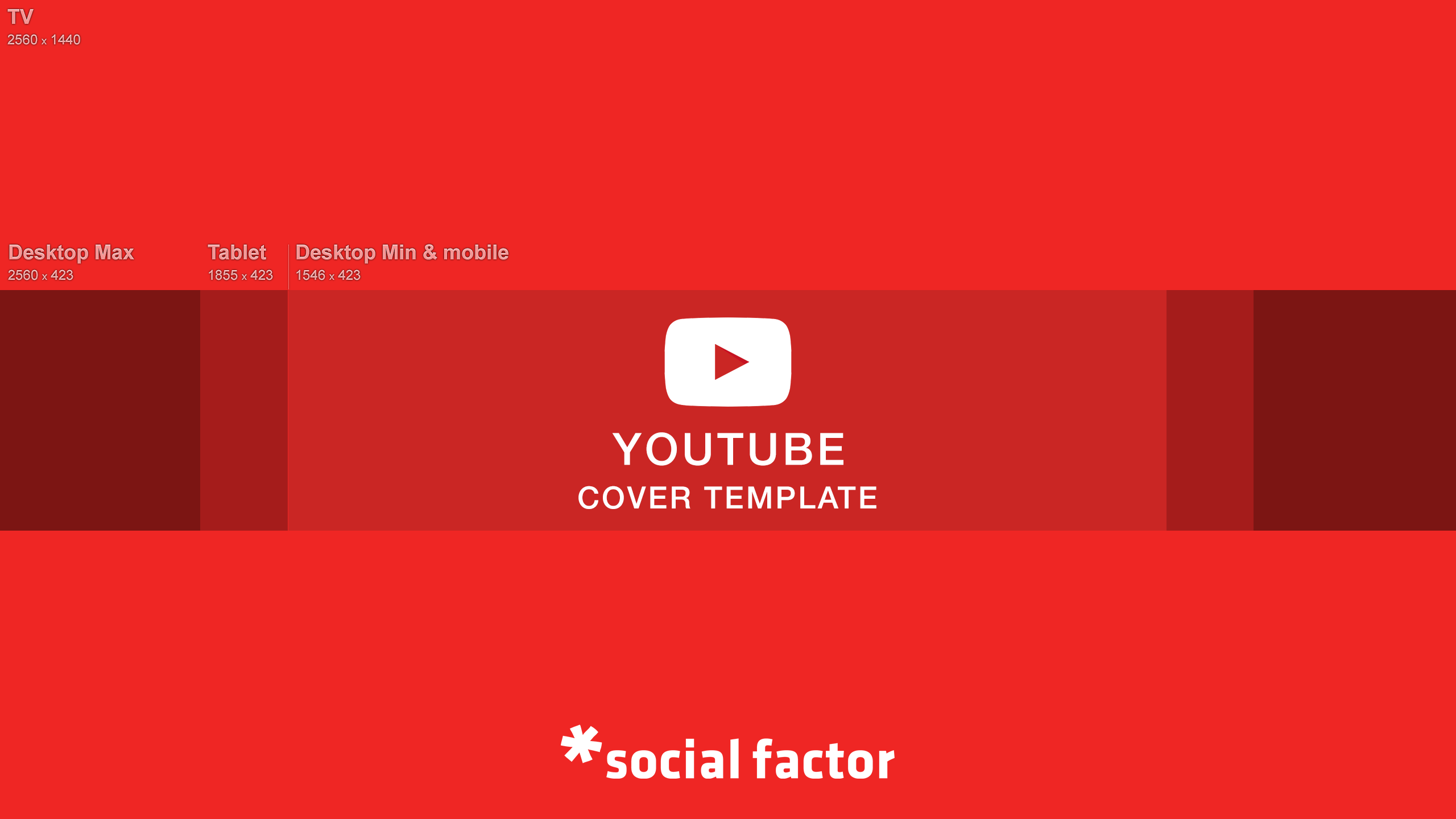 YouTube Cover Template