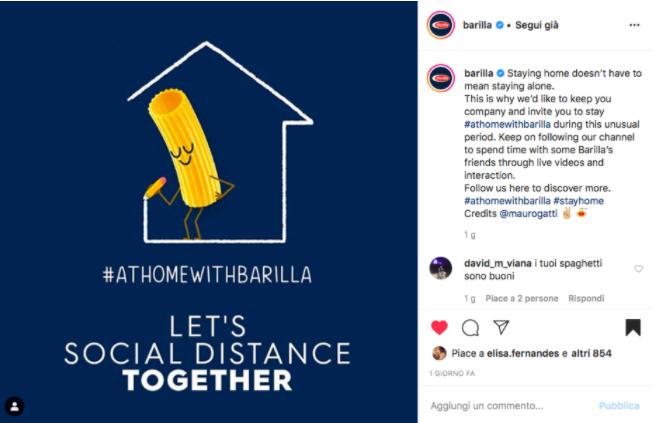 Real Time Marketing - Barilla