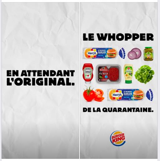 Real Time Marketing - Burgerking