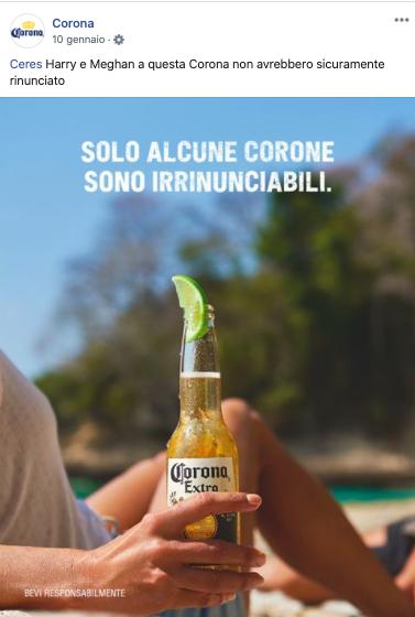 Real Time Marketing - Corona