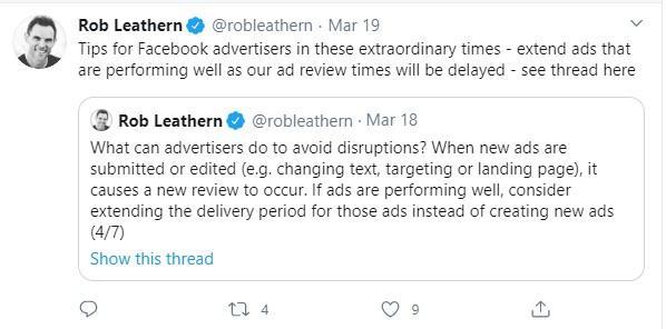 Facebook Ads, Rob Leathern