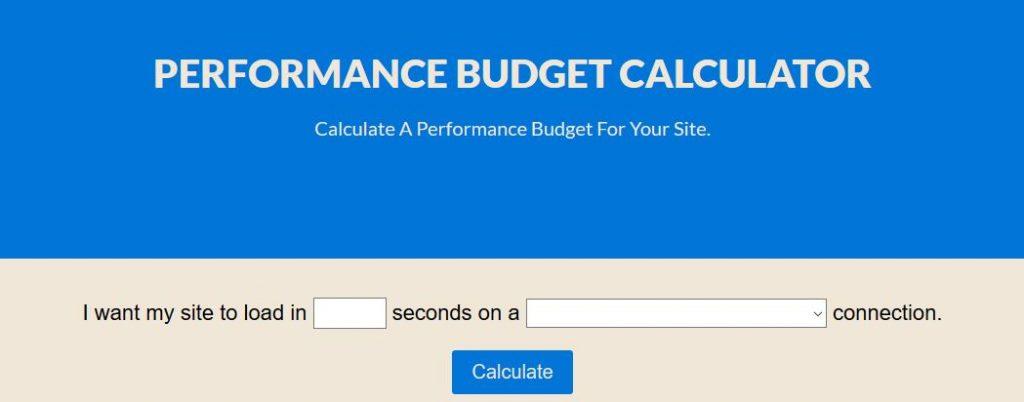 performance_budget