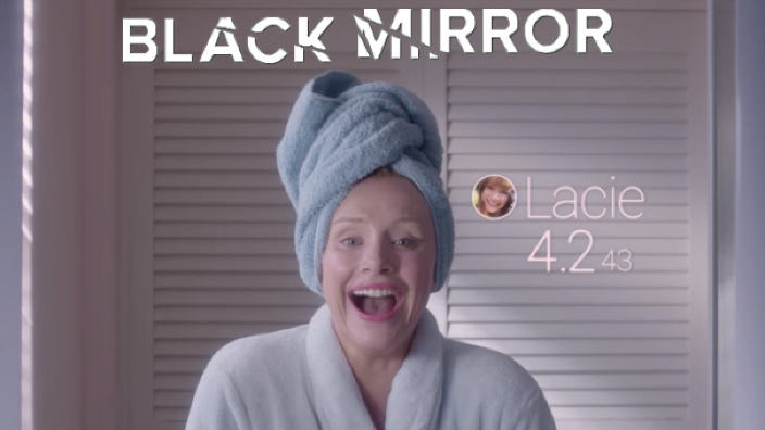 Rating black mirror social credit cina
