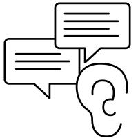 social media monitoring (listening)