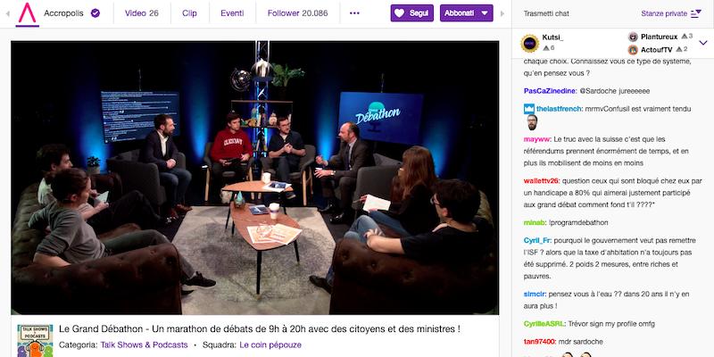 Macron su Twitch